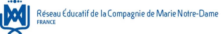 Réseau éducatif de la compagnie de Marie Notre-Dame FRANCE